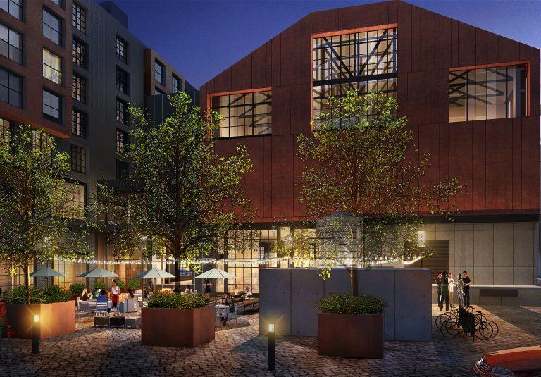 Elliot Park Courtyard View