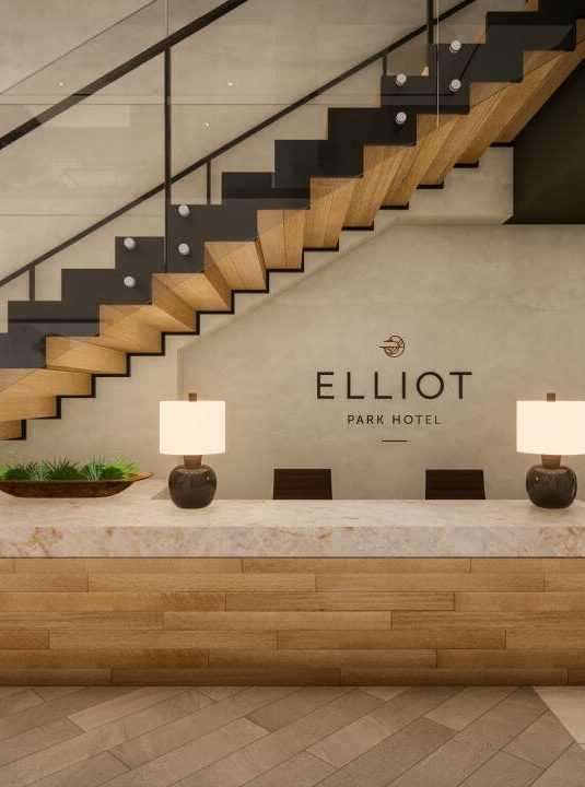 Elliot Park Hotel Minneapolis lobby